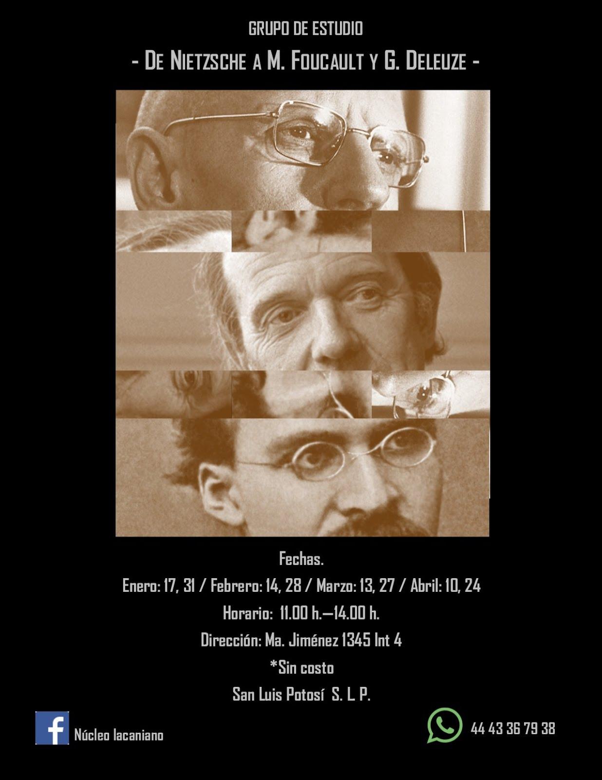 De Nietzsche a M. Foucault y G. Deleuze