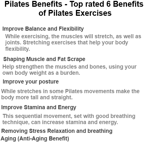 Top Rated 6 Benefits Of Pilates Exercises