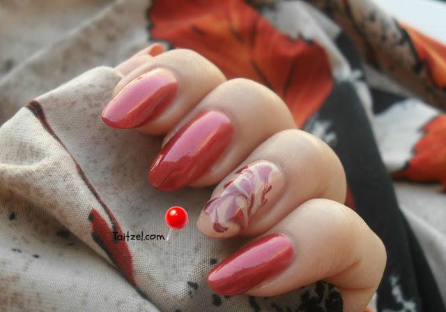 manichiura pentru toamna autumn nail art Orly See Yah