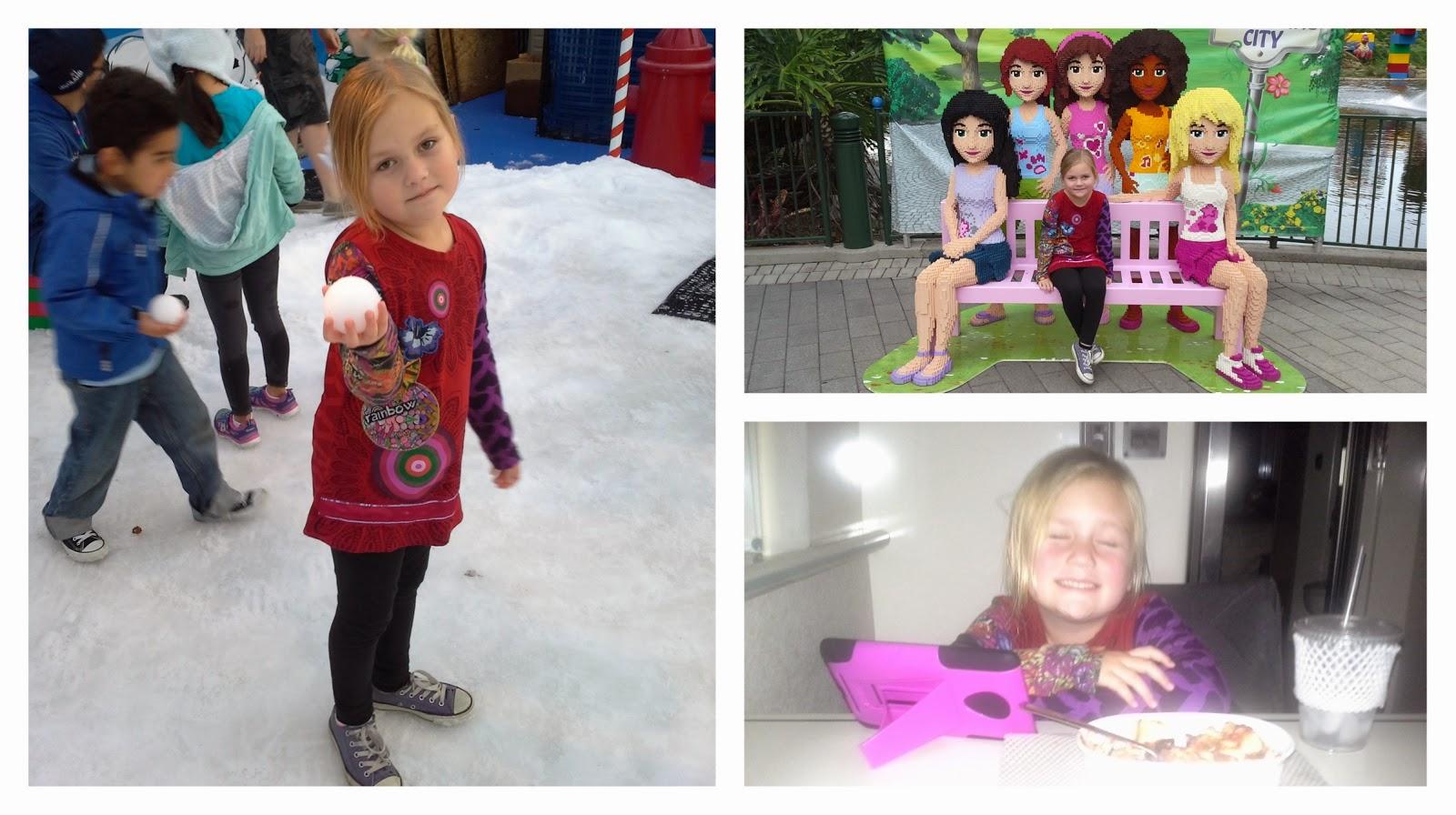 Lizzie Lau Legoland Fun with Snow and Grandparents