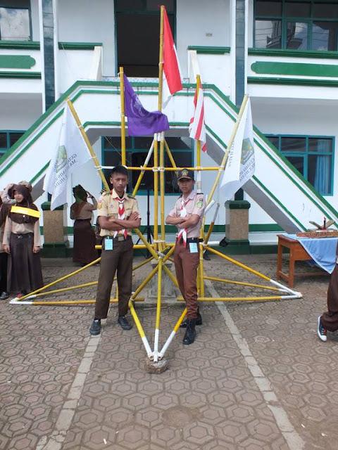 Pionering Pramuka MA Nurul Huda