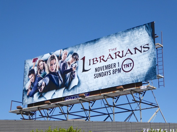 The Librarians season 2 billboard
