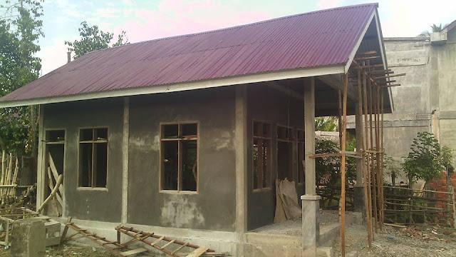 gedung PKK tampang samping Gampong Meunasah Raya Krueng Kec. Peukan Baro Kab. Pidie - Aceh