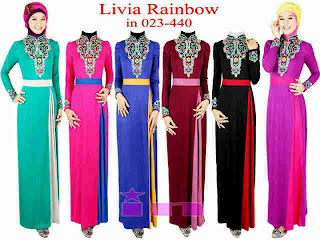 Livia Rainbow fit to L