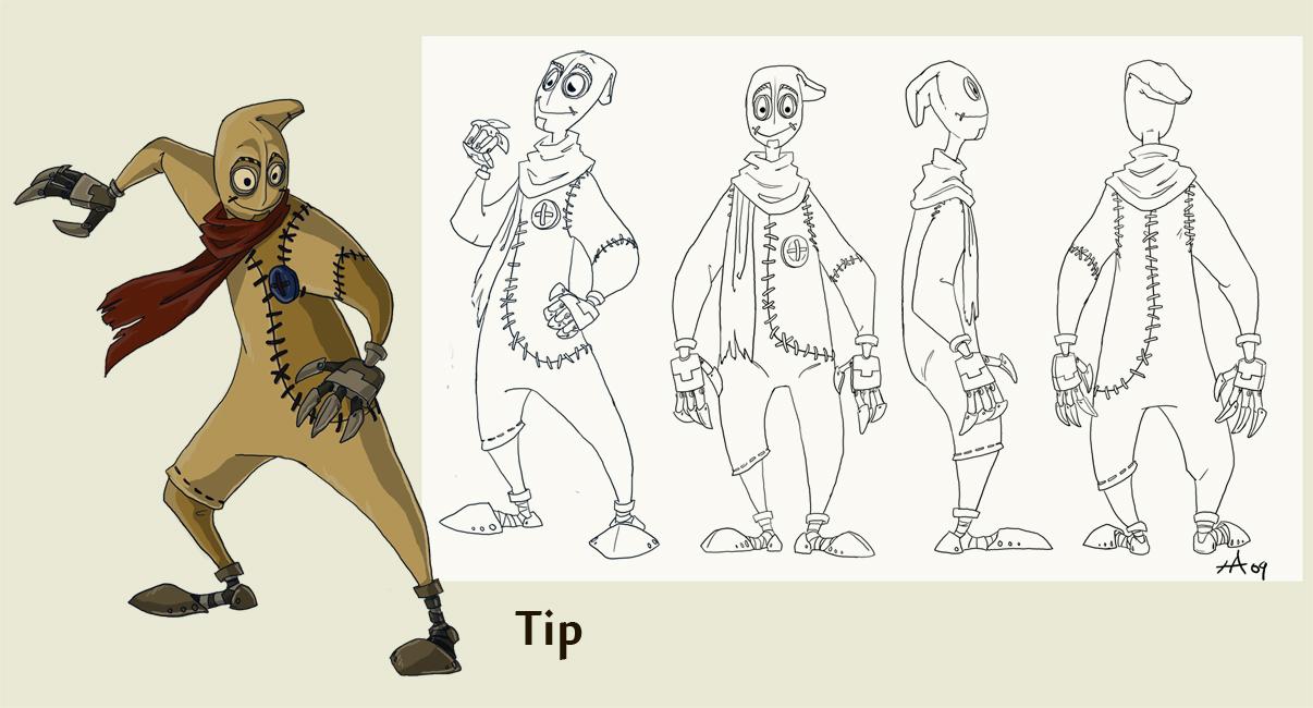 Character Design Intern : Twinerism