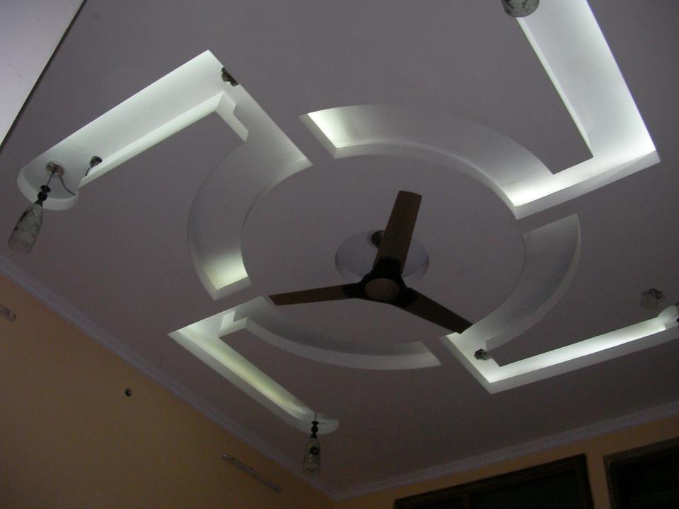 Genesis of Art: Interiors Project #1 - False Ceiling (Bed Room #1)