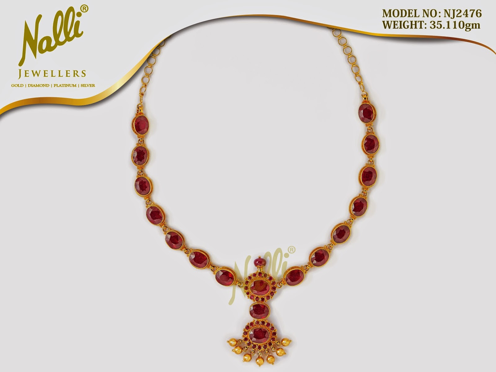 Latest Nalli Jewellers Necklace Collections