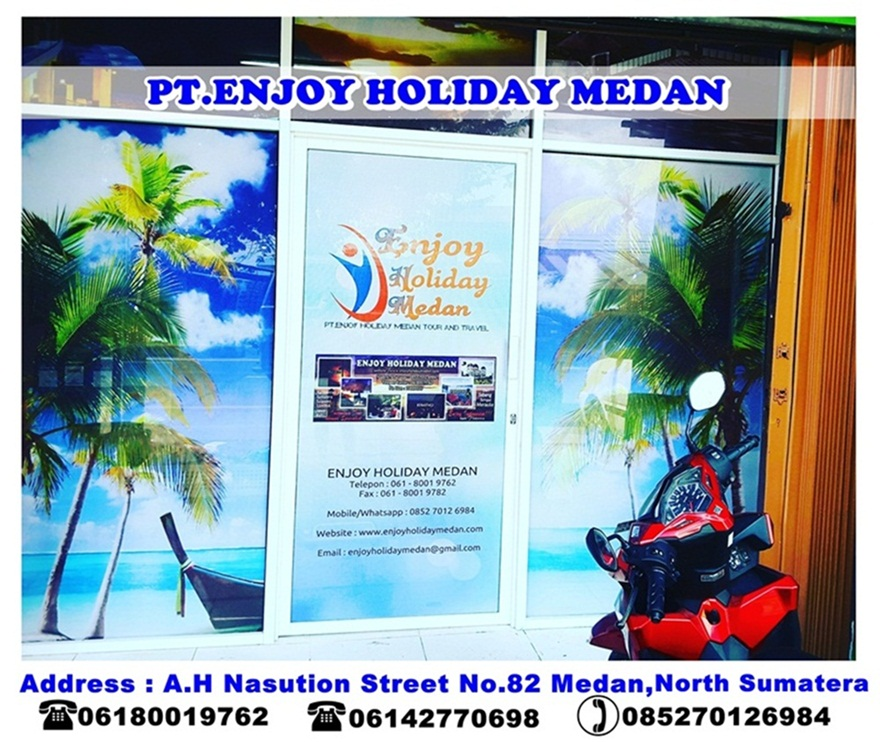office of PT.ENJOY HOLIDAY MEDAN TOUR AND TRAVEL