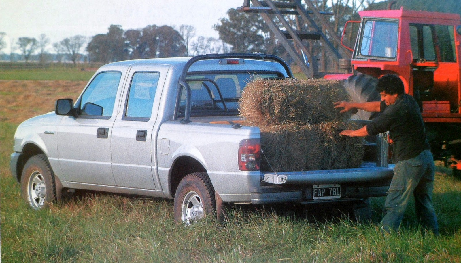 Caja carga ford ranger 2 3 gnc