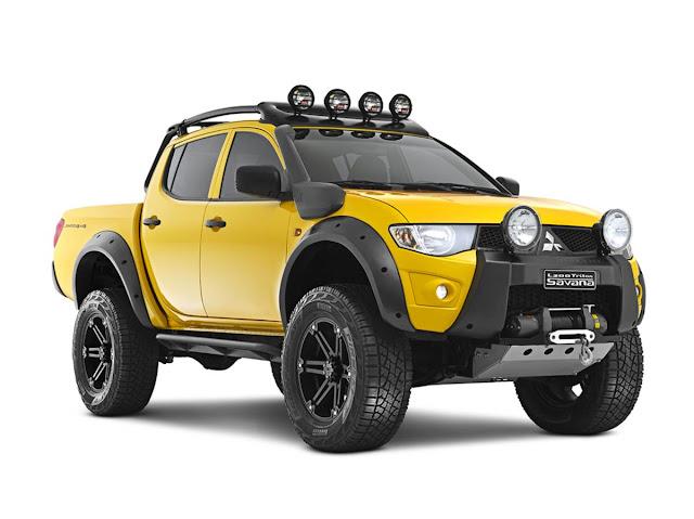 Mitsubishi L200 Triton Savana ADX: fotos e especificações | CAR.BLOG