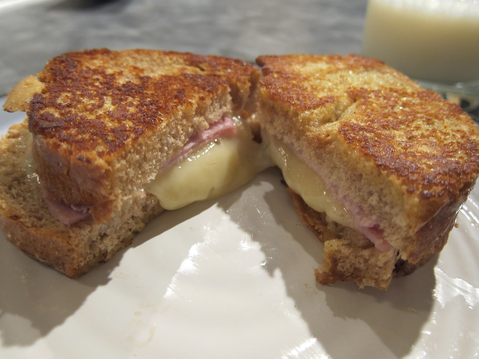 Belle's Baking: Brie Croque Monsieur Sandwiches