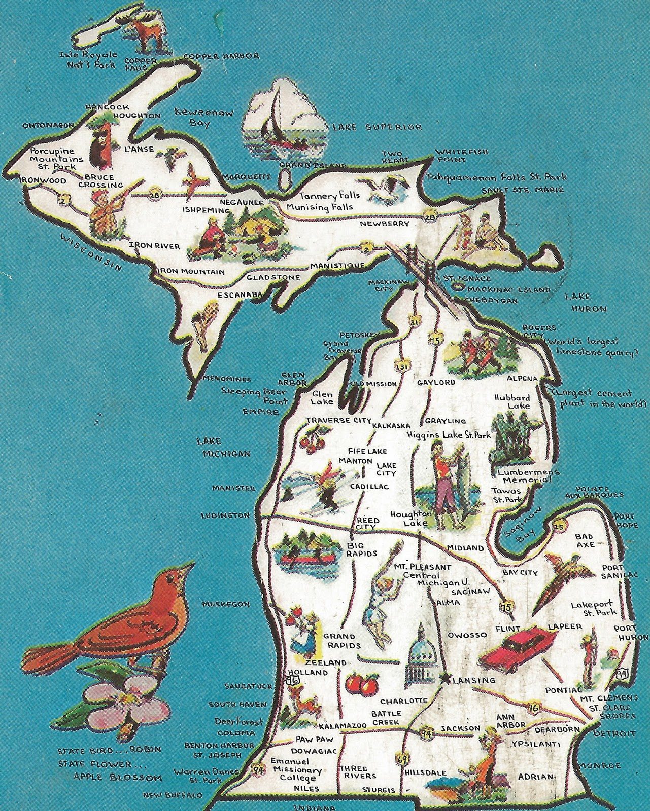 Discover the blue ten fun facts for michigans 180th birthday ten fun facts for michigans 180th birthday m4hsunfo