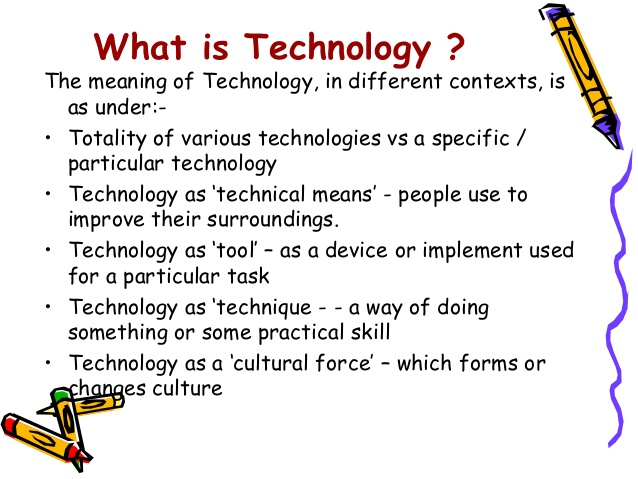 an essay on the importance of technology In this time of technology assisted learning, students are not only familiar with   writing, it is essential to examine first the importance of each of these constructs.