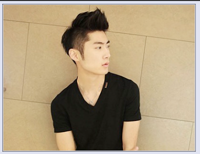 men korean style hair style gallery 2013 the two sides hair cut short ...