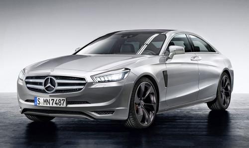 Mercedes E-Class superlight