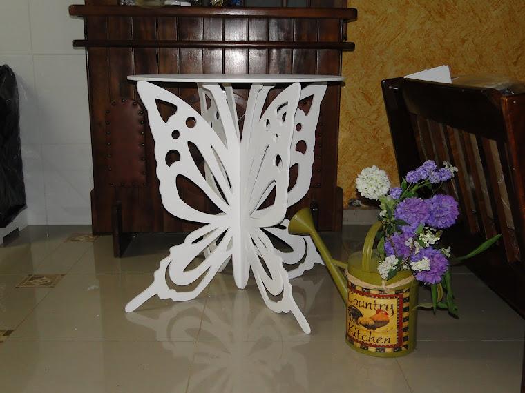 mesa borboleta