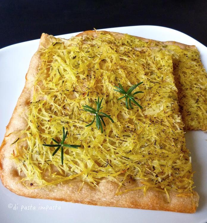 Di pasta impasta: Pizza alle patate a lievitazione naturale