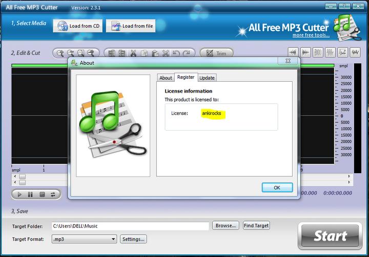 Энэ удаад All free mp3 cutter софтыг тавьлаа. Энэ программ нь mp3 өргөтгөл