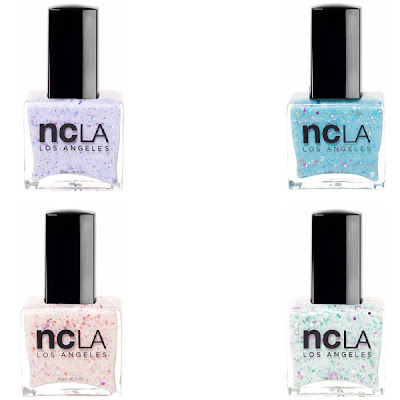 NCLA, NCLA nail polish, NCLA Duchess of L.A. nail polish collection, NCLA A Touch of Class, NCLA Posh and Privileged, NCLA Lavish Spender, NCLA Let Them Eat Cake, nails, nail polish, nail lacquer, nail varnish, manicure, beauty giveaway, A Month of Beautiful Giveaways