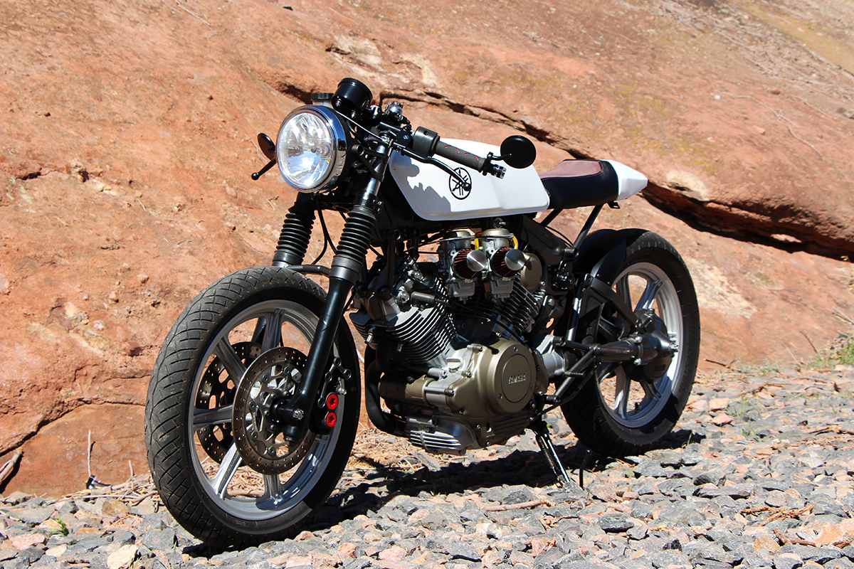 Virago Cafe Racer by RPG Return of the Cafe Racers