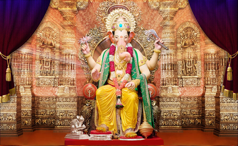 Lalbaugcha Raja 2011 - Wallpaper - pictures - video