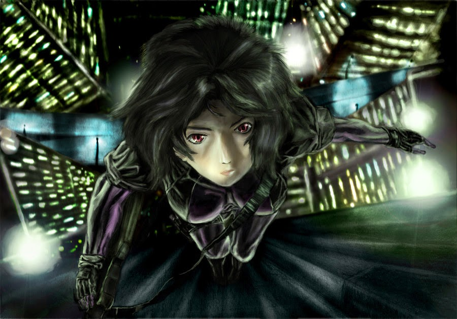 Motoko Kusanagi - Ghost In The HD Wallpaper