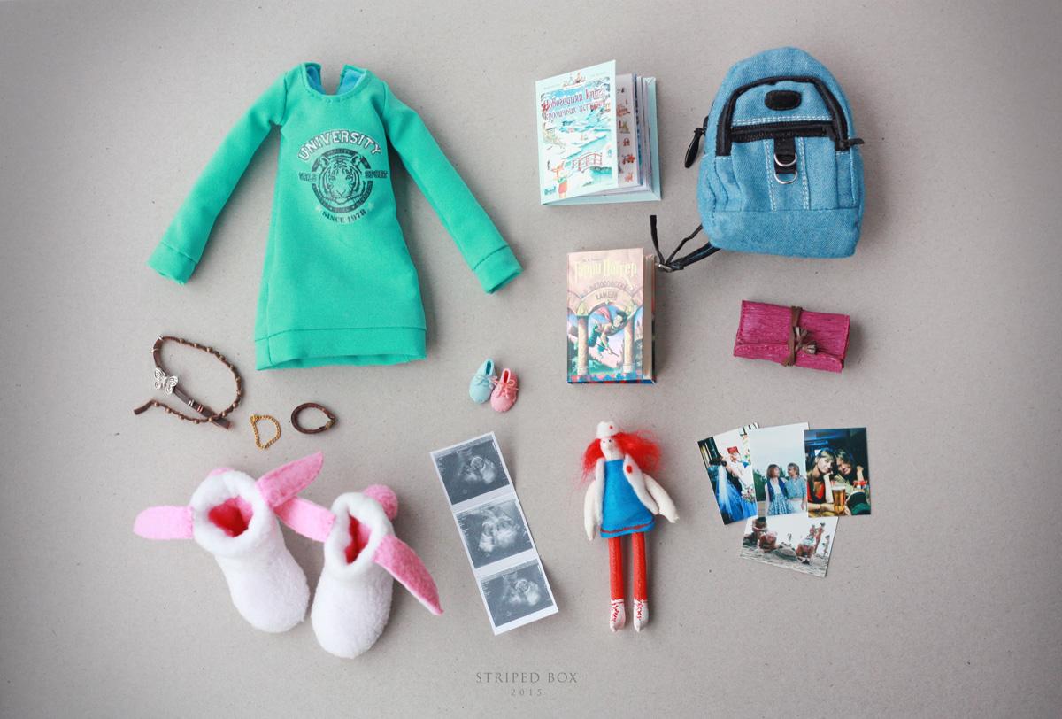 Как сделать для кукол мелкие вещи