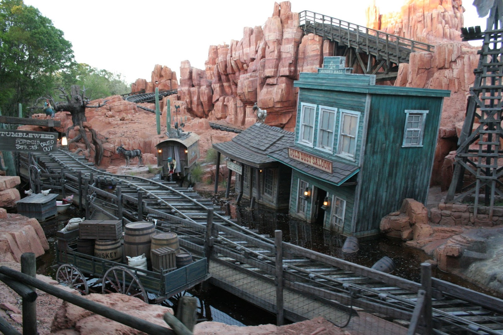 roller coaster, Walt Disney World, Magic Kingdom, ride