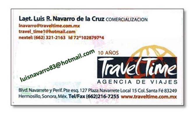 VIAJA CON TRAVEL TIME