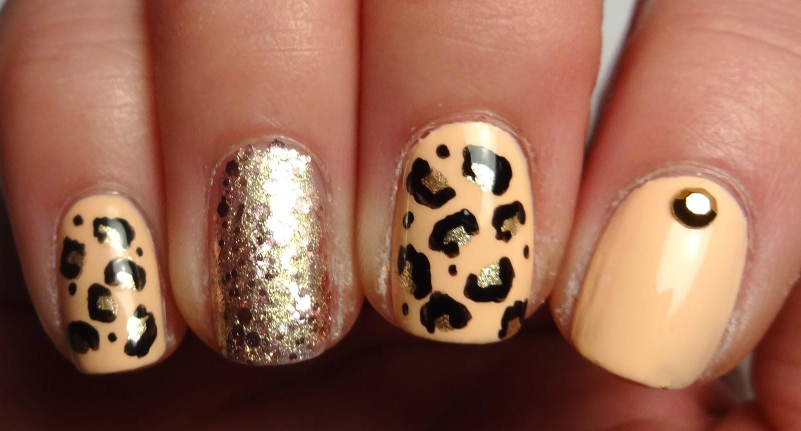 Gold Stud Nail