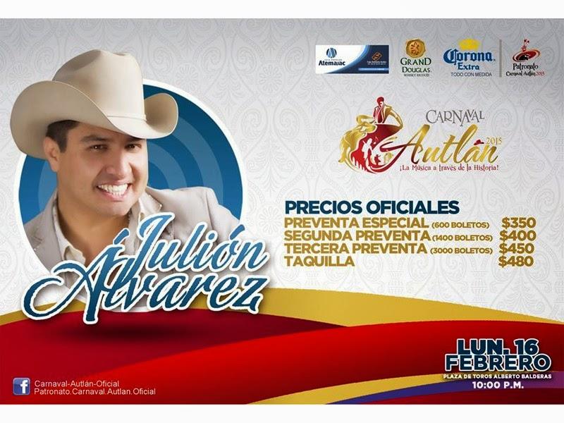 Carnaval Autlán 2015 programa