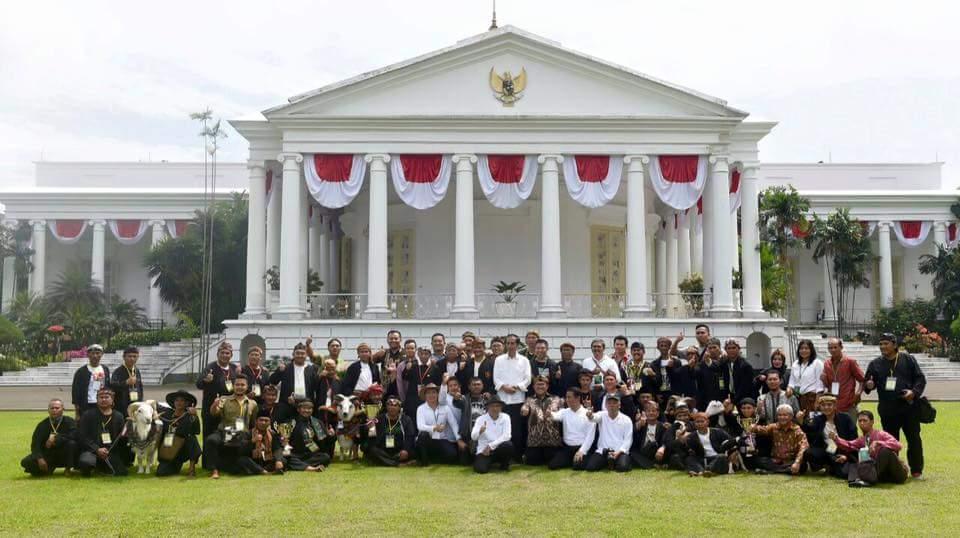 With Bpk Jokowi Presiden RI