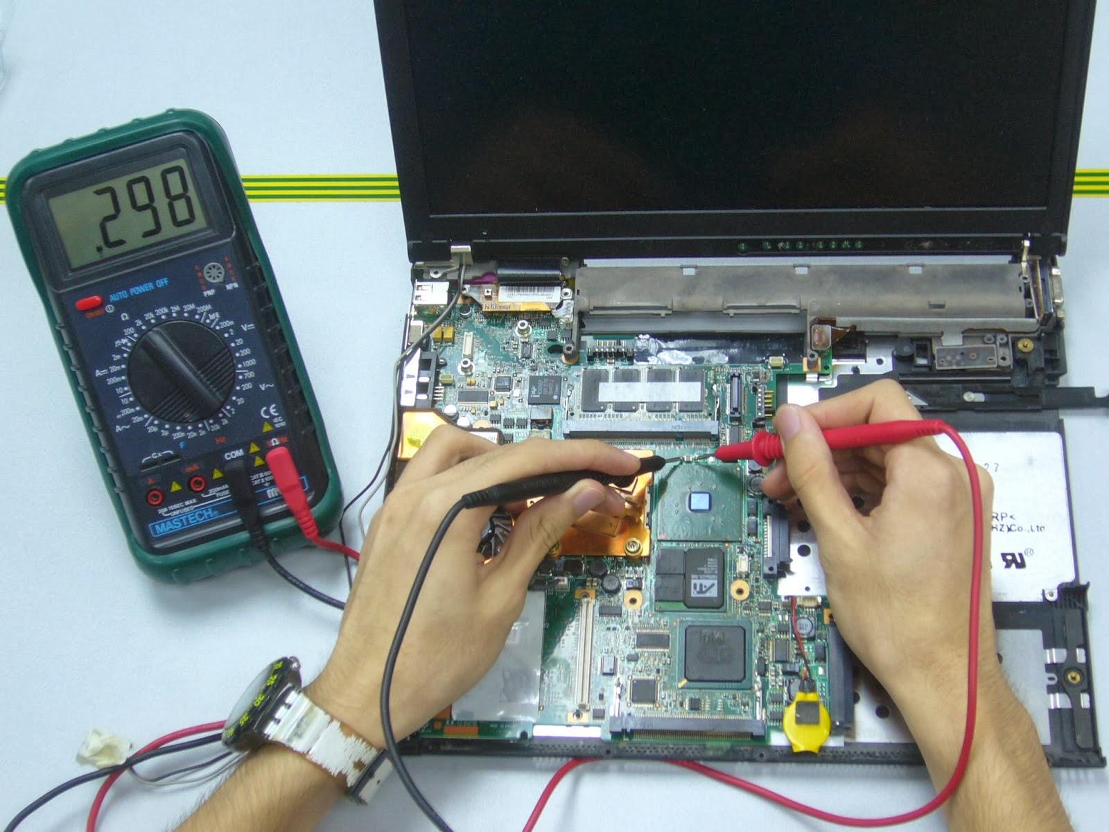8 tips dasar servis laptop satria komputer