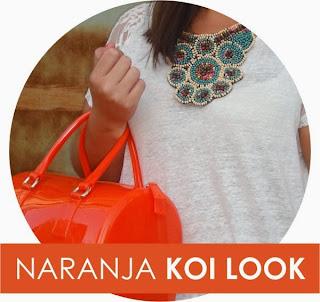 Naranja Koi Look