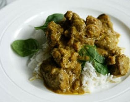 Eat Live Grow Keto Paleo: Sweet Lamb Curry