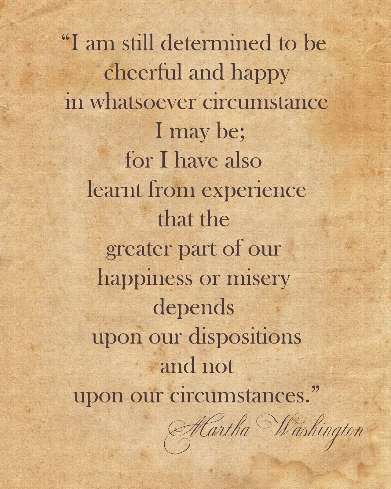 Quotes About Martha Washington