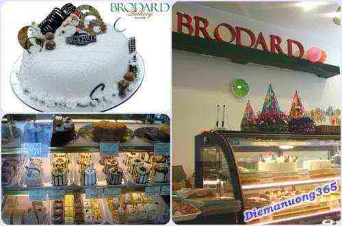 Hương vị bánh ngon & chất lượng tại Brodard Bakery, cua hang banh, bakery shop, banh kem tuoi, diem an uong ngon,