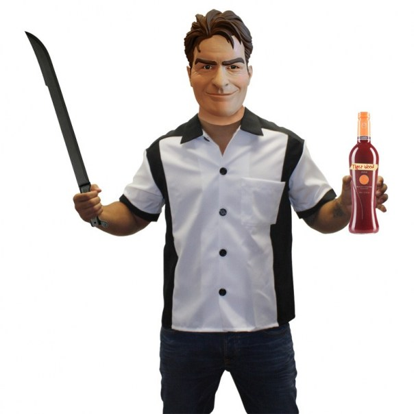 Charlie Sheen Halloween Costume Get Most Popular In 2011