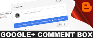 google plus comments box in blogger