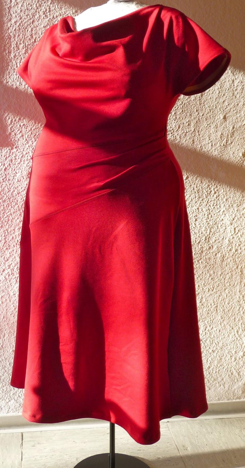 Rotes kleid selber nahen