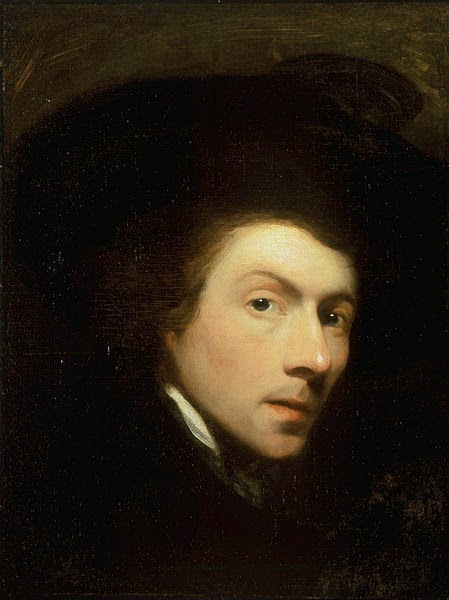 Self Portrait by Gilbert Stuart, 1778