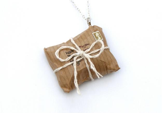 https://www.etsy.com/uk/listing/170484979/brown-parcel-necklace-miniature-brown