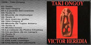 Ante tanto traidor: Taki Ongoy