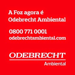 A Foz agora é Odebrecht Ambiental - Ligue 0800 771 0001