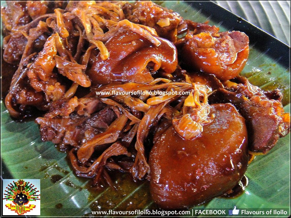 Pork pata estofado recipe