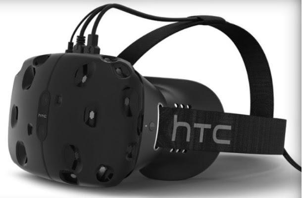 τα HTC 3D γυαλιά για εικονική πραγματικότητα