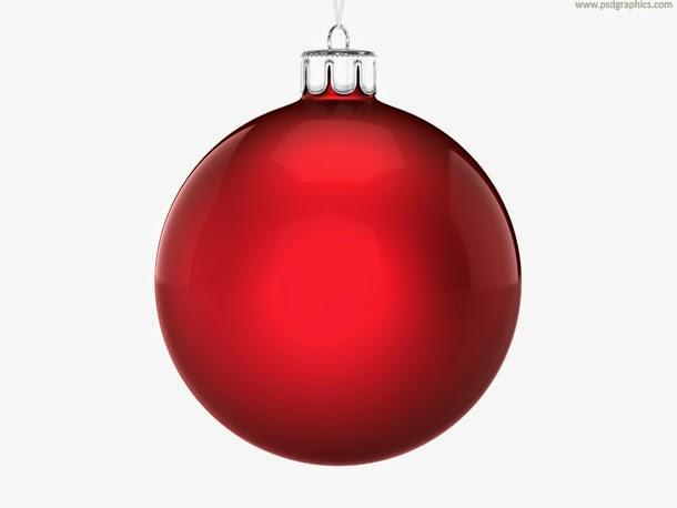 Christmas Ball PSD