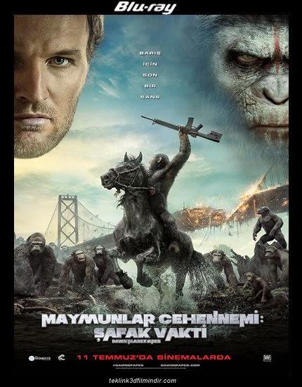 Dawn of the Planet of the Apes - Maymunlar Cehennemi: Şafak Vakti (2014) afis