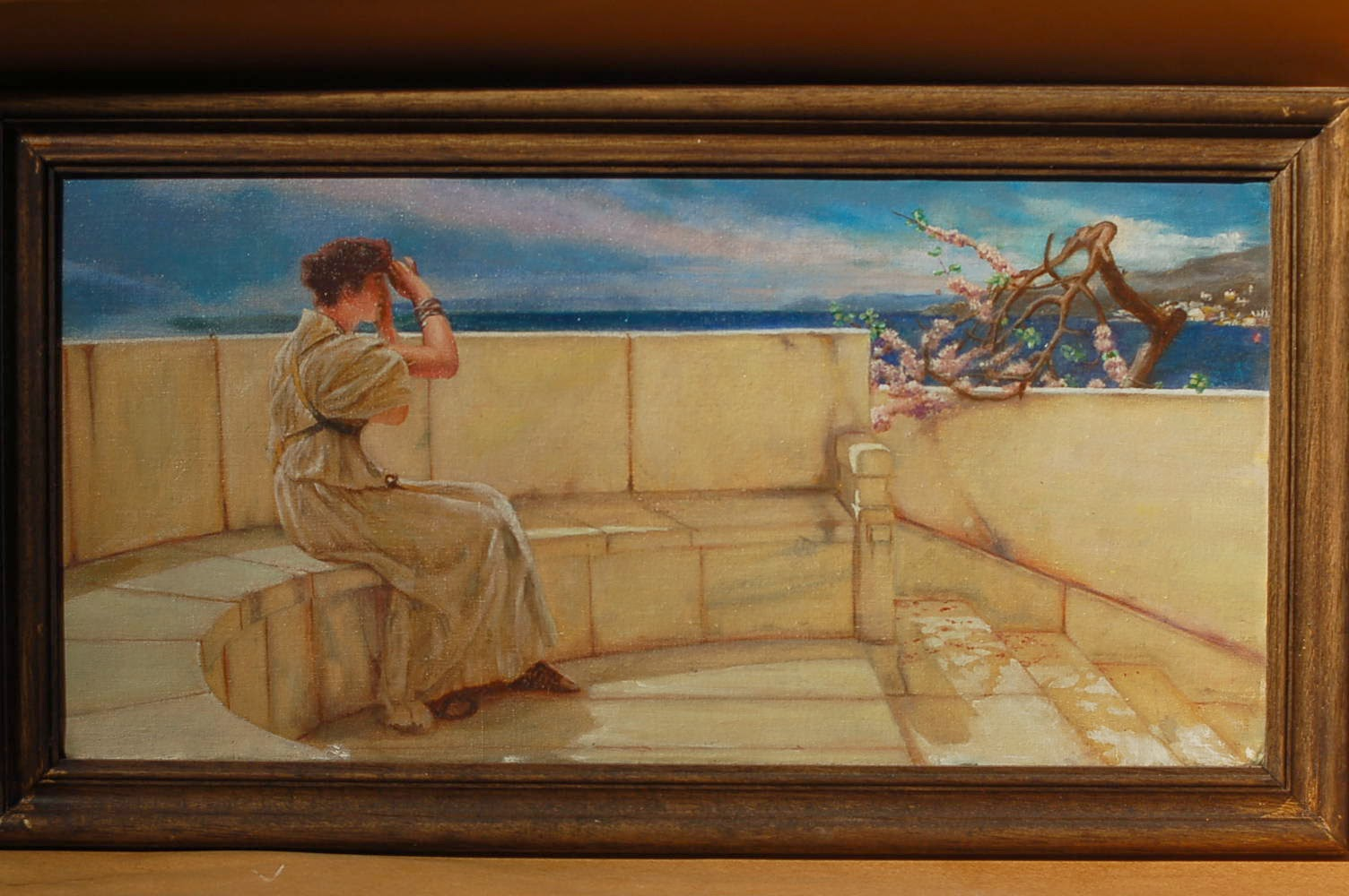 alma tadema ( oil copy )