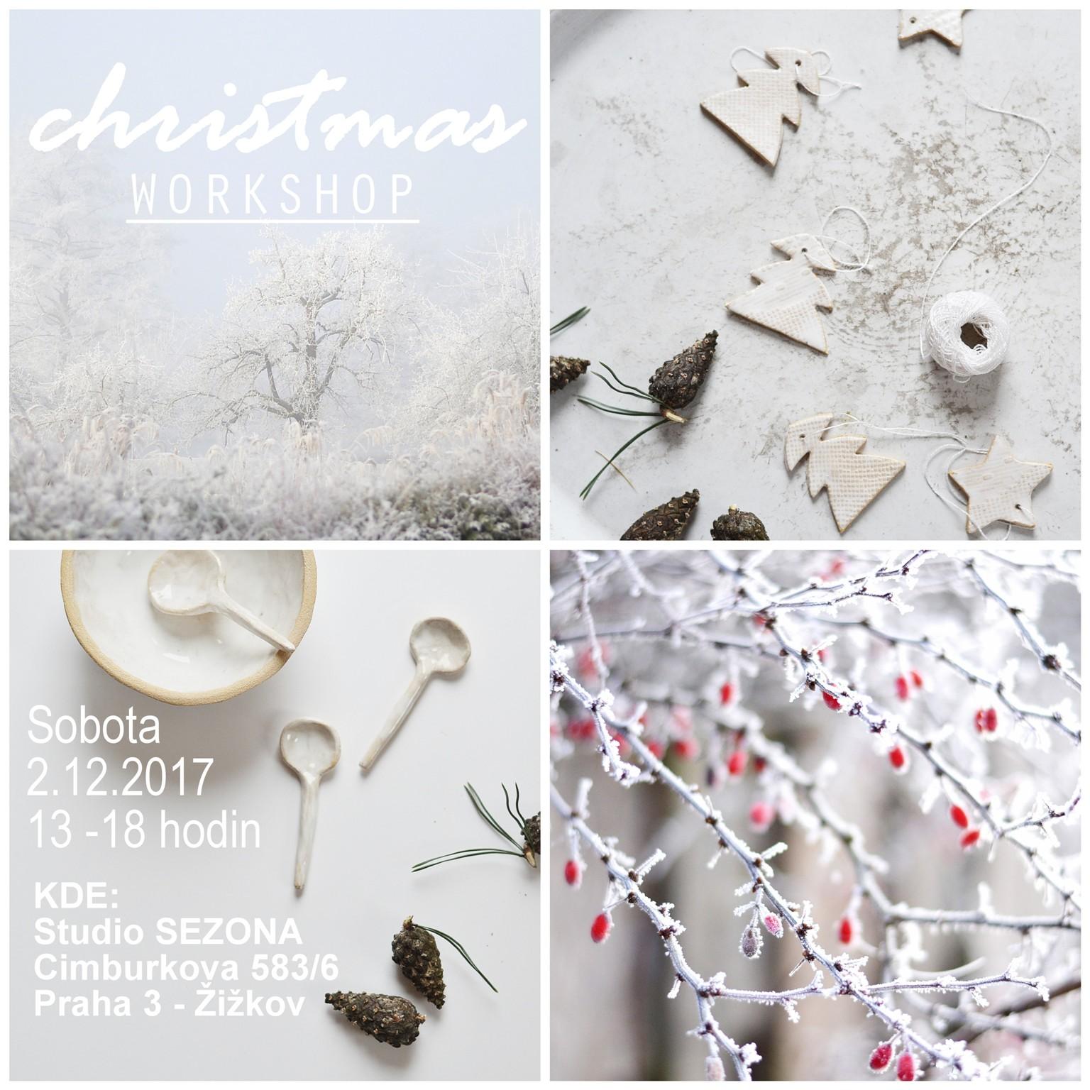 Vánoční floristický workshop